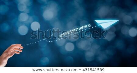 Business Development Metaphor Stock photo © Lightsource
