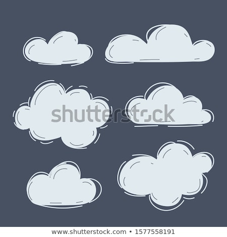 Envelope Symbol Shaped Cloud Stock photo © make