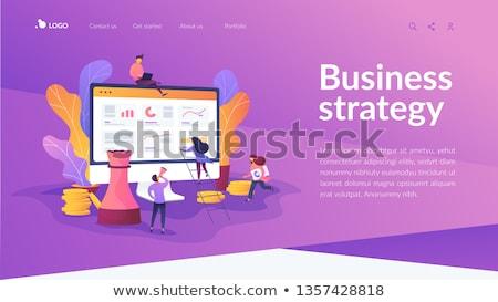 3D zakenman expert advies 3d illustration zakenman Stockfoto © ribah