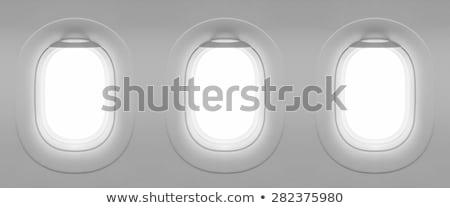 white triple window template Stock photo © romvo