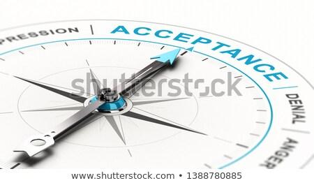 компас · слово · образование · обучения · стрелка - Сток-фото © olivier_le_moal