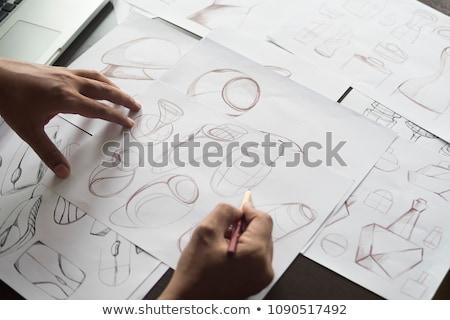 Making sketch Stock photo © pressmaster