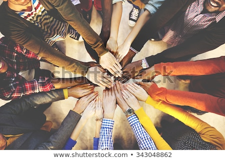 Teamwork Togetherness Collaboration Concept.  stock photo © ijeab
