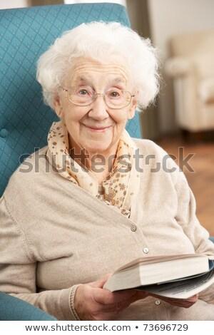 Ritratto attivo senior donna spettacolo Foto d'archivio © wavebreak_media
