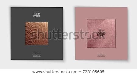 Cuivre vacances glitter résumé luxe Photo stock © Anneleven