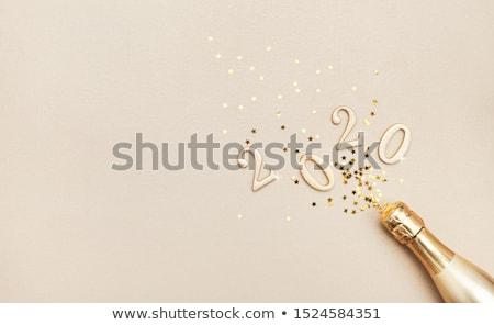 mooie · gelukkig · nieuwjaar · kerstmis · banner · vector · realistisch - stockfoto © sarts