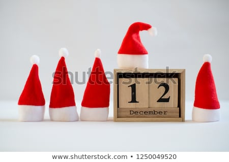 Cubes calendar 12th December Stock photo © Oakozhan