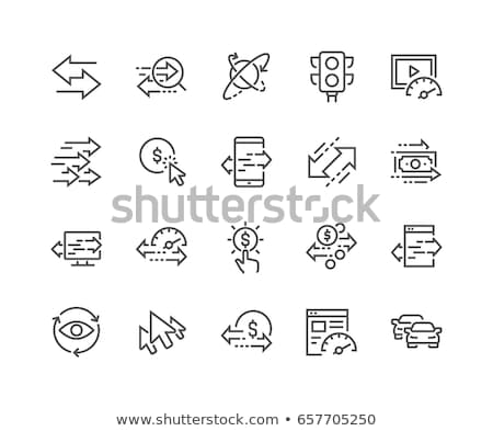 Pay Per Click Line Icon Stock photo © smoki