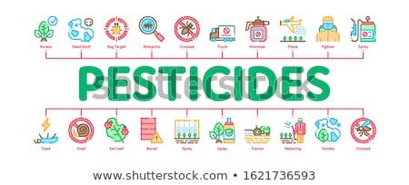 Chemische banner vector web Stockfoto © pikepicture