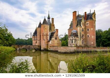 Zamki kaplica centrum Francja budynku kościoła Zdjęcia stock © phbcz
