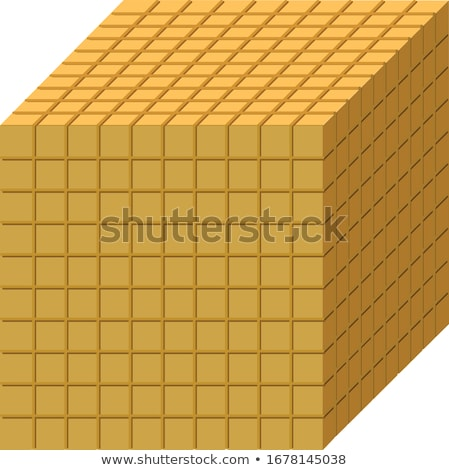 Stock photo: block of cube