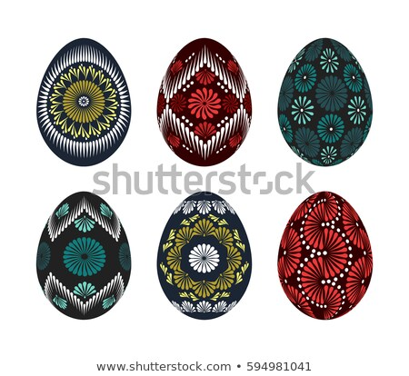 коллекция · восточных · яйца · различный · продовольствие · зеленый - Сток-фото © jelen80
