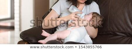 Baby Boy eating Stock photo © radu_m