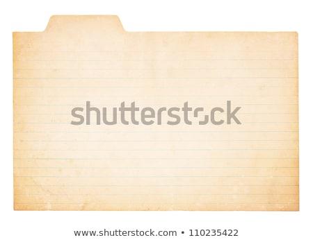 старые карт изолированный белый фон красный Сток-фото © latent