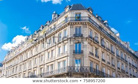 Typisch parijzenaar architectuur Frankrijk centrum Parijs Stockfoto © haraldmuc