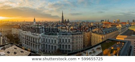 skyline of vienna stock photo © manfredxy