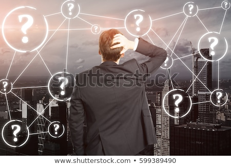 Confused businessman. stock photo © RTimages