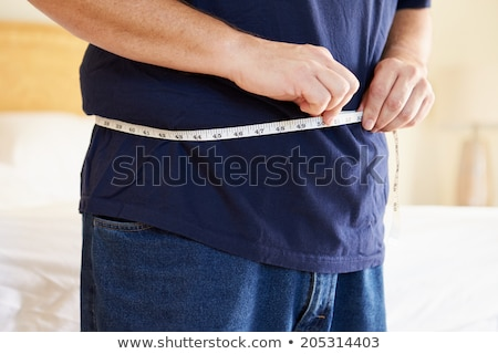 Middle aged obese man Stock photo © markhayes