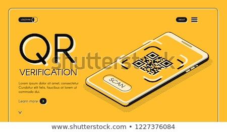 qrcode smart phone service stock photo © cgsniper