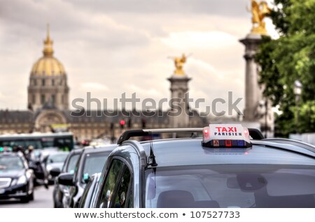 paris taxi stock photo © stocksnapper