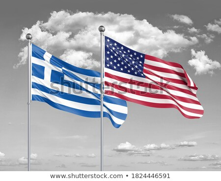 America and Greece trade Stock photo © Lightsource