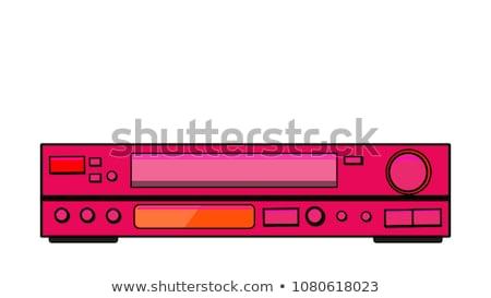 CD / DVD / DVR Player Stock photo © cteconsulting
