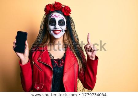 Halott kérdés fekete kérdőjel 3d illusztráció halál Stock fotó © drizzd