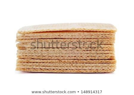 Spanyol nápolyi fagylalt szendvics fehér étel Stock fotó © nito