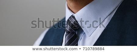 nuevos · camisa · empate · negocios · paquete · algodón - foto stock © stocksnapper