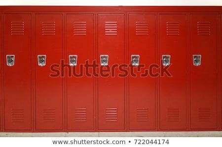 School Lockers Stock photo © cmcderm1