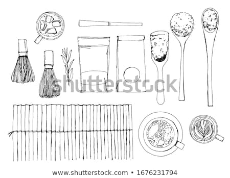 wooden spoon and whisk  Stock photo © jirkaejc