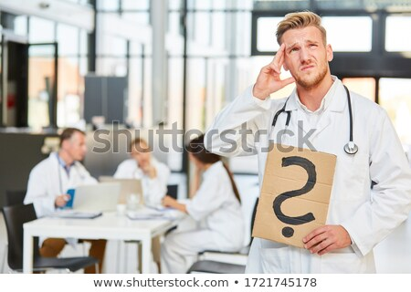 Medical Decisions Stock photo © Lightsource