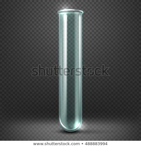 teszt · csövek · flaska · üvegáru · közelkép · ipar - stock fotó © pressmaster