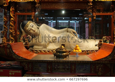 kő · Buddha · építészet · szobor · Ázsia · vallás - stock fotó © smithore
