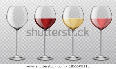 coquetel · vidro · coleção · copo · isolado · branco - foto stock © fanfo