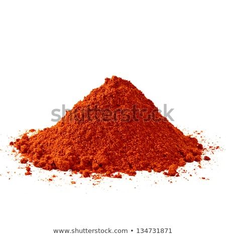 Piros föld piros paprika halom eladva Egyiptom Stock fotó © franky242