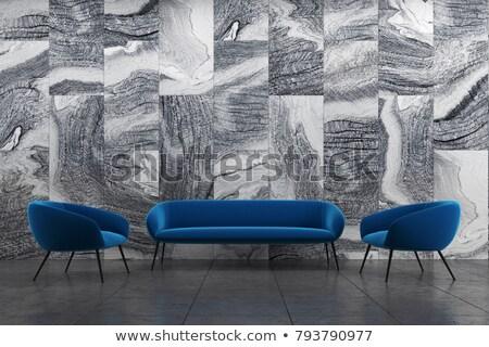 kettő · ablakok · zsalu · ezüst · üzlet · textúra - stock fotó © nejron