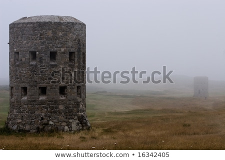 loophole towers in Guernsey that guard the coastline. Stock photo © chris2766