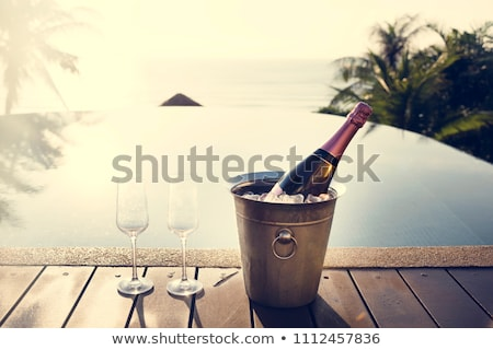 Champagne Pool Stock photo © dirkr