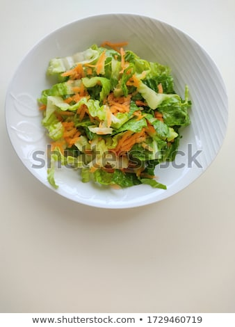Fresh mixed lettuces, with carrots Stock photo © tilo
