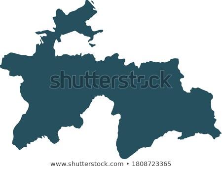 map of Tajikistan Stock photo © mayboro1964