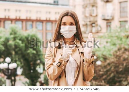 женщину латекс девушки стороны женщины моде Сток-фото © phbcz