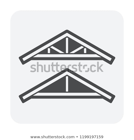 roof wooden elements stock photo © taviphoto