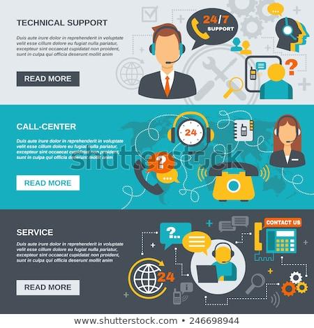 technikai · támogatás · pénzügy · ikonok · üzlet · kompozíciók · szett - stock fotó © vipervxw
