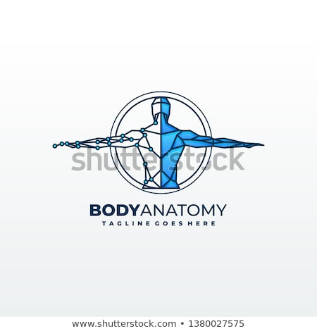 Medical diagnostic body clinic logo Stock photo © mcherevan