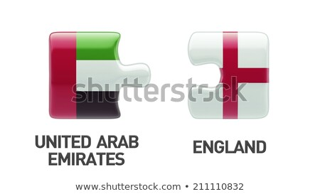 European Union and United Arab Emirates Flags Stock photo © Istanbul2009
