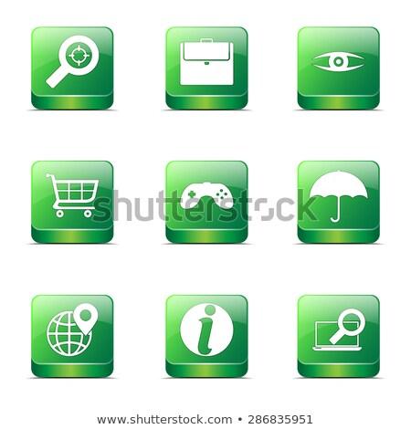 vásárlás · felirat · tér · vektor · zöld · ikon - stock fotó © rizwanali3d