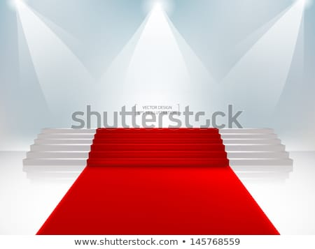 staircase with red carpet stock photo © netkov1