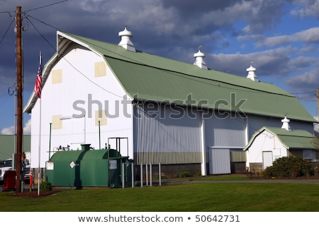 сарай · крыши · Blue · Sky - Сток-фото © njnightsky