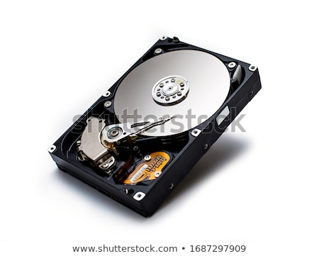 Hard disk drive HDD isolated Stock photo © shutswis